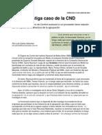 INBA Investiga Caso de La CND