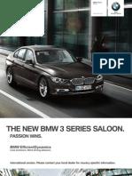 BMW 3series Sedan Catalogue