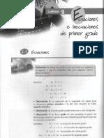 001cap 2 Ecuaciones e Inecuaciones de Primer Grado