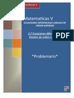 P2.7 Ecuaciones Diferenciales Lineales de Orden Superior