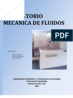 LABORATORIO MECANICA FLUIDOS
