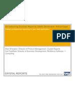 Crystal Reports 2008 Developer's Advantage