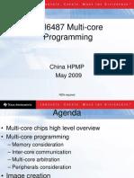 Multicore Programming Faraday