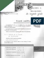 001cap 4 Ecuaciones e Inecuaciones de Segundo Grado