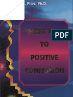 Three Keys to Positive Confession - Price