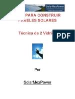 Tecnica Para Construir Un Panel Solar Con Vidrio