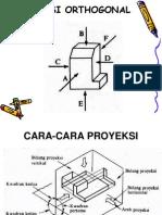 Proyeksi Orthogonal