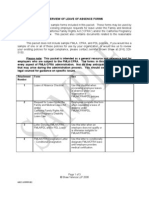 Leave of Absence Sample Forms and Letters (00046025-6)