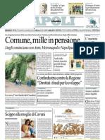laRepubblica 25.7.12 - Comune, mille in pensione.
