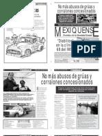 Versión impresa del periódico El mexiquense 25 julio 2012