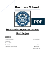 Dbms Final Project