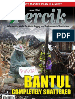 Bantul Earth Quake. PERCIK Indonesia Water and Sanitation Magazine. June 2006.