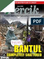 Bantul Earth Quake. PERCIK Indonesia Water and Sanitation Magazine. June 2006.