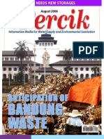Anticipation of Bandung Waste. PERCIK. Indonesia Water and Sanitation Magazine. August 2006