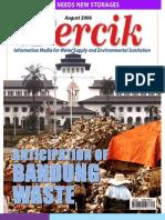 Anticipation of Bandung Waste. PERCIK. Indonesia Water and Sanitation Magazine. August 2006