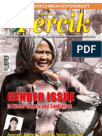 Gender Issue in Water and Sanitation. PERCIK. Indonesia Water and Sanitation Magazine. April 2007