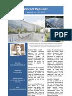 Newsletter  Eté 2012