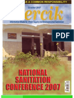 National Sanitation Conference 2007. PERCIK. Indonesia Water and Sanitation Magazine. October 2007