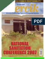 National Sanitation Conference 2007. PERCIK. Indonesia Water and Sanitation Magazine. October 2007