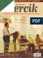 International Year of Sanitation. PERCIK. Indonesia Water and Sanitation Magazine. December 2007