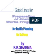 Guide Lines for Works Programee