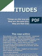 Attitudes Ppt
