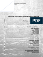 Vacuum Insulation