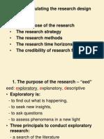 Ch 5- Research Design