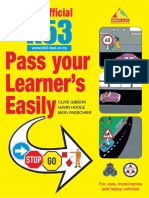 The Official K53 Pass Your Learner's Easily (Extract)