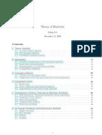 Theory of Elasticity-L. Liu