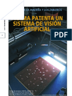 Sistema avanzado de visión artificial con patente española y alemana