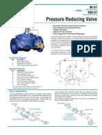 CLAVAL Pressure Reducing Valve