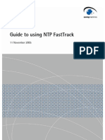 NTP FastTrack Guide
