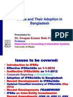 IFRSs and Their Adoption in Bangladesh_ASA University_22-Feb-2012