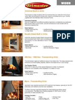 2012 Jetmaster Brochure Fireplaces Lite