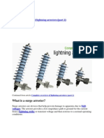 Complete Overview of Lightning Arrester 2