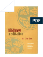 J Kabat-Zinn - Guided Mindfulness Meditation 1 Booklet