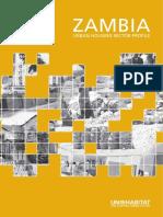 Zambia Urban Housing Sector Profile