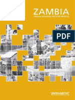 Zambia Urban Housing Sector Profile