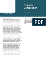 Systems Competition