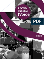 RECOM Initiative !Voice 8-2012 ENG