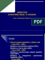 Direktive Eu u Oblasti Voda