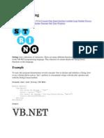Vb.net String