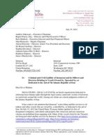 Shurat HaDin's July 25 2012 Letter to Inmarsat