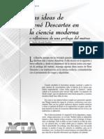 Las ideas de René Descartes en la ciencia moderna o reflexión [1997] - Martha Alvarado Zanabria