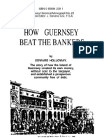 Edward Holloway -- How Guernsey Beat the Bankers