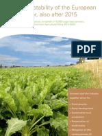 Position Paper Dutch Sugar Sector