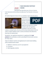 Lead Shielding Requirements When Building X-Ray Room