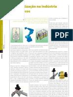 Artigo Fluidotronica na Revista Robótica 87 [2012]