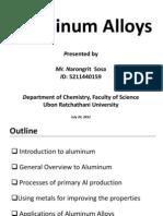 Aluminum Alloys Presentation